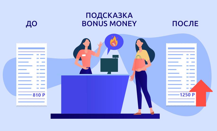 Bonus Money - подсказки кассиру